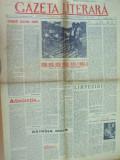 Gazeta literara 20 decembrie 1956 desene Ross S. Vasiliu I. Bitan I. Salisteanu
