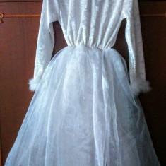 Rochie de Zână - Costum copii, Marime: 34, Culoare: Alb