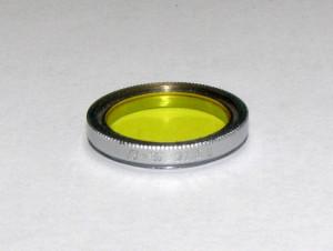 Filtru galben camera filmat B+W 21.5mm(190)