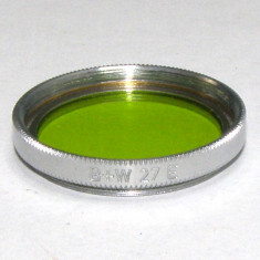 Filtru galben verde B+W 27mm(159) - Filtru foto
