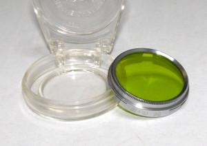 Filtru verde camera filmat B+W 29mm(209)