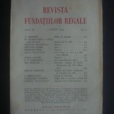 REVISTA FUNDATIILOR REGALE  anul II, 1 Iunie 1935, nr. 6, Alta editura