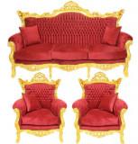 SET LIVING CU SOFA ROSIE, Sufragerii si mobilier salon, Baroc