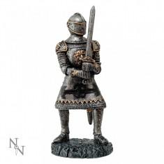 Statuetă luptător medieval Sir Gareth - Sculptura