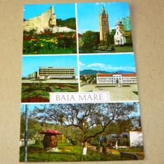 Baia Mare - Maramures - pitoresc - 2+1 gratis - RBK15845 - Carte Postala Maramures dupa 1918, Circulata, Printata