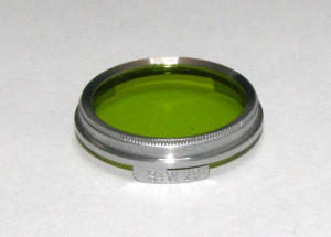 Filtru galben verde camera filmat B+W 29mm(225)