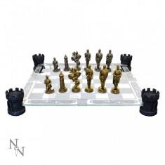 Joc șah Cavaleri medievali - Set sah