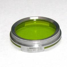 Filtru galben verde camera filmat B+W 26mm(237)