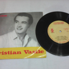 DISC VINIL CRISTIAN VASILE IUBESC FEMEIA RARITATE!!!EPC 945 STARE FOARTE BUNA - Muzica Blues