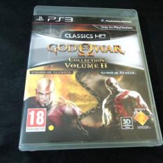 Joc God of War Collection II, PS3, original, alte sute de jocuri! - Jocuri PS3 Sony, Actiune, 18+, Single player