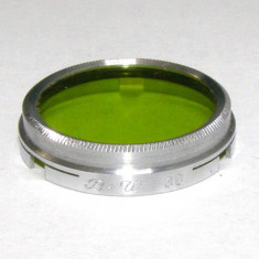 Filtru galben verde camera filmat B+W 30mm(182)