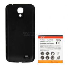 Baterie extinsa 6200 mah Samsung Galaxy S4 i9500 neagra - Husa Telefon Samsung, Negru, Husa
