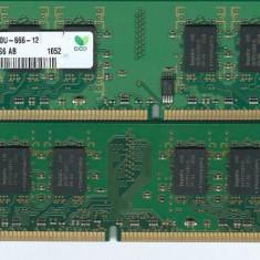 Memorie RAM DDR  2 HYNIX 2 GB  800 MHz PC2-6400U-666, DDR 2
