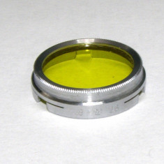 Filtru galben camera filmat B+W 26mm(217)