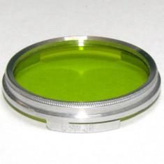 Filtru galben verde camera filmat B+W 39mm(186)