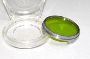 Filtru galben verde camera filmat B+W 38.5mm(241)