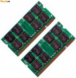 4Gb DDR2 2x 2Gb laptop PC2-5300S 667MHz 12luni garantie, 4 GB, 667 mhz