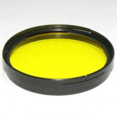 Filtru galben montaj 49mm(046) - Filtru foto