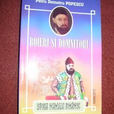 Petru Demetru Popescu - Boieri si domnitori - Carte educativa