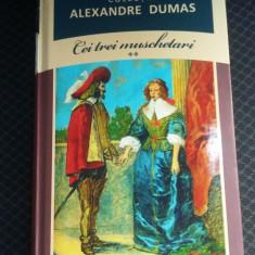 CEI TREI MUSCHETARI -VOL 2 ALEXANDRE DUMAS, BIBLIOTECA ADEVARUL - Carte de aventura