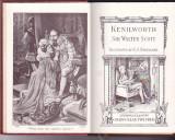 WALTER SCOTT - KENILWORTH ( ILUSTRATII DE C. J. STANILAND ) ( IN ENGLEZA )
