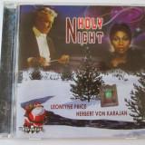 CD EUROSTAR/HERBERT VON KARAJAN & LEONTYNE PRICE ALBUMUL HOLY NIGHT STARE F.BUNA - Muzica Pop Altele
