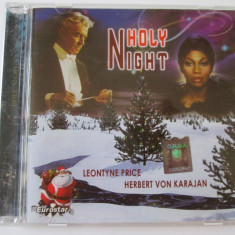 CD EUROSTAR/HERBERT VON KARAJAN & LEONTYNE PRICE ALBUMUL HOLY NIGHT STARE F.BUNA - Muzica Pop Altele