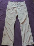 Pantaloni barbati PRADA, mas. 52, Bej, Lungi