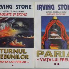 TURNUL NEBUNILOR / PARIA VOL I-II de IRVING STONE, 1971