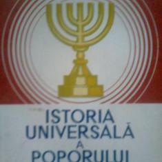 ISTORIA UNIVERSALA A POPORULUI EVREU - DR. ALFRED HARLAOANU (1992) - Istorie