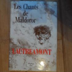 Les Chants De Maldoror - Lautreamont, 532336 - Curs Limba Franceza