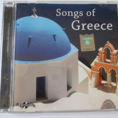 CD EUROSTAR/SONGS OF GREECE STARE F.BUNA - Muzica Pop Altele
