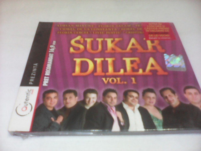 CD  MANELE SUKAR DILEA VOL 1 ORIGINAL NOU SIGILAT