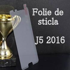 FOLIE de STICLA Samsung J5 2016 tempered glass securizata protectie - Folie de protectie