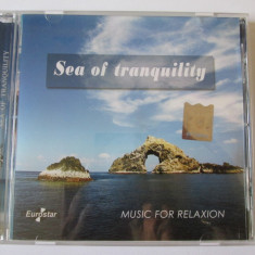 CD EUROSTAR/MUSIC FOR RELAXION ALBUMUL SEA OF TRANQUILITY STARE F.BUNA - Muzica Ambientala Altele