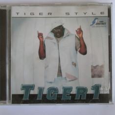 CD TIGER 1 ALBUMUL TIGER STYLE/CAT MUSIC 2002 - Muzica Hip Hop