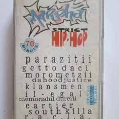 RARA! CASETA AUDIO MARPHA STRICT HIP-HOP COMPILATIE 1996 - Muzica Hip Hop Altele, Casete audio