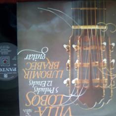 (M) DISC VINIL VILLA LOBOS - Muzica Dance electrecord