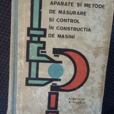 APARATE SI METODE DE MASURARE SI CONTROL IN CONSTRUCTIA DE MASINI-GHILEZAN