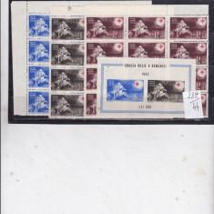 Romania 1943 crucea rosie - Timbre Romania, Nestampilat