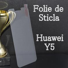 FOLIE de STICLA Huawei Y5 tempered glass securizata protectie - Folie de protectie, Anti zgariere