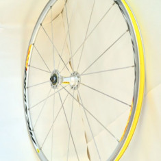Roata fata aluminiu MAVIC AKSIUM RACE cursiera - cu testare 72h inaintea platii - Piesa bicicleta, Butuci roata