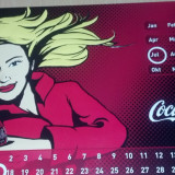 Calendar COCA COLA - Calendar colectie