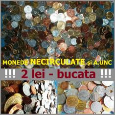 LOT / SET 50 MONEDE NECIRCULATE (DIFERITE) PENTRU COLECŢIE: 2 lei/bucată!!!, Europa, An: 1970