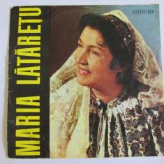 RAR! VINIL MEDIU 10'' MARIA LATARETU EPD 1087 - Muzica Populara electrecord