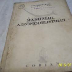 Manualul aeromodelistului- ghe. rado- 1944