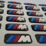 Sticker/Logo/marca auto/emblema BMW ///M siliconata 3D - Embleme auto
