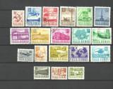 Romania 1967 - POSTA SI TRANSPORTURI (uzuale), serie uzata , LOT115