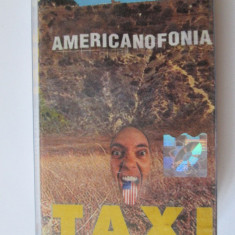 CASETA AUDIO ORIGINALA TAXI ALBUMUL AMERICANOFONIA/CAT MUSIC 2001 - Muzica Rock cat music, Casete audio