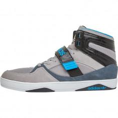Adidasi Adidas Originals Mens Space Diver 2.0 Hi-Tops nr.  41 1/3, Gri, Piele intoarsa